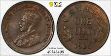 1925 Canada Small Cent PCGS MS62 Brown Lot#G328 Key Date! Nice UNC!