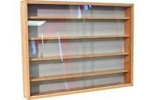 Unbranded Glass 60cm-80cm Height Display Cabinets