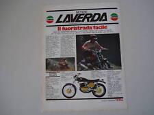 advertising Pubblicità 1974 MOTO LAVERDA 250 2T