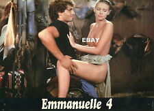 SEXY MYA NIGREN EMMANUELLE 4  1984 VINTAGE PHOTO LOBBY CARD N°3