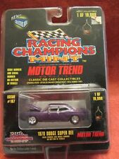 Racing Champions Mint  1970 Dodge Super Bee  #167  Red  1:60 scale  NOC (5)