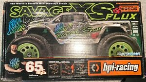 HPI Savage XS Flux Brushless Vaughn Gittin Radio Control Car RTR