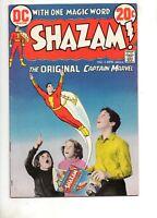 Shazam #2 1ST DC APP: MR. MIND! FIRST TALKING TAWNY! INFINITY PHOTO COV 1973! Fn