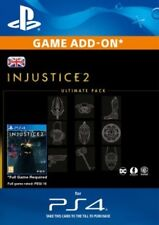 Injustice 2 Ultimate Pack DLC - PS4 - SAME DAY DELIVERY