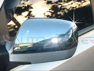 Chrome Side Mirror Full Cover Molding 2p For 2006 2009 Kia Sedona : G Carnival