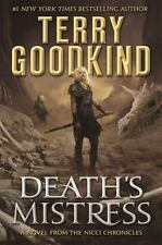 DEATH'S MISTRESS - GOODKIND, TERRY - NEW HARDCOVER BOOK