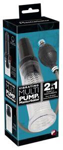 Impotenzhilfe Penispumpe Vakuum Extender Vergrößerung Vibrating Multi Pump