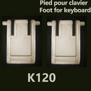 Pieds de remplacement pour clavier Logitech K120 / MK120 Leg Stand Foot Feet Set