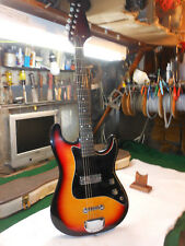 1960s Teisco  Kimberly  Bison Electric Guitar MIJ COOL VIBE