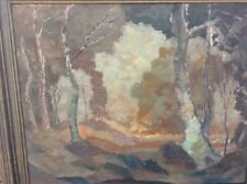 HERMAN REUTER LANDSCAPE PAINTING SIGNED LISTED CALIFORNIA ARTIST 1888-1965