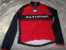 Altura Red Team Long Sleeved Cycling Jersey XXL....brand new with tags