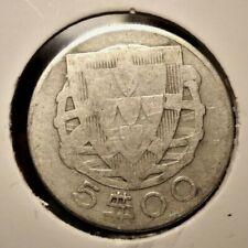 Portugal 5 escudos 1933 coin (SILVER)