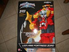 "LION FIRE FORTRESS ZONE POWER RANGERS NINJA STEEL 20"" TALL 3 MODES OF PLAY"