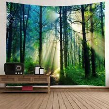 Forest Tree Tapestry Wall Hanging Hippie Tapestries Bedspread Throw Home Decor