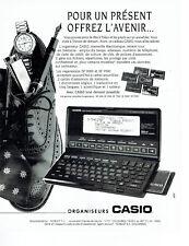 Publicité Advertising 108  1991    organisateurs Casio SF 9000 & 9500