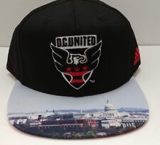 875705f66cc DC United MLS adidas Authentic Team Structured Adjustable 2D City Hat   Cap