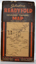 Johnston's Readyfold Touring Map Linen Section 1