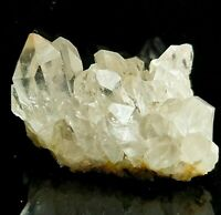 Amazingly Beautiful Clear Quartz Cluster, Rare Unique Quartz Crystals US SELLER