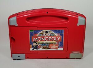 Monopoly Here & Now: The World Edition Travelers Edition Plastic Case Electronic