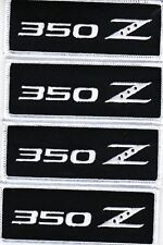 NISSAN 350Z (4) EMBROIDERED SEW/IRON ON PATCH EMBLEM BADGE 370z