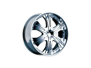 "Brand New Diamo-27 wheels 18"" Chrome (4x100/4x114.3/5x100/5x114.3) (Set of 4)"