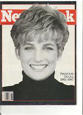 NEWSWEEK 1997 DIANA PRINCESS OF WALES DEATH BOSNIA SERBS WINSTON CIGARETTE CIA