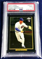2020 Topps - TURKEY RED CHROME PSA 9 NICO HOERNER - CHICAGO CUBS ROOKIE RC