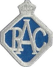 Royal Automobile Club Badge iron on/sew on cloth patch (ff)
