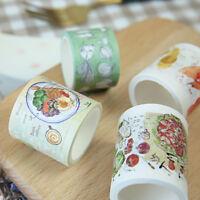 """""""Yummy Yummy"""" 1pc Cute Masking Washi Tape Scrapbooking Craft Decor Stickers Tape"""