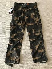 NWT Men's Miskeen Green Camouflage Camo Cargo Pocket Pants w/ Belt SIZES 30-40