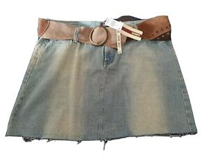 Denim skirt size 18