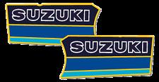 1985 Suzuki RM 250 Radiator Shroud Decals