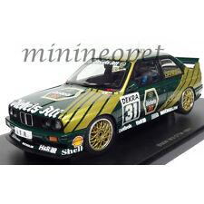 AUTOart 89148 BMW M3 E30 DTM 1991 DIEBELS ALT DANNER #31 1/18 DIECAST BLACK