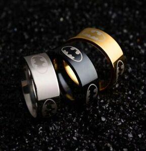 Batman Superhero Ring