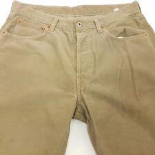 Replay 902 Mens Vintage Corduroy Jeans W32 L28 Beige Regular Fit Straight