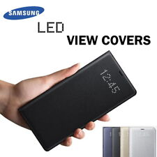 Official Samsung LED View Covers for Galaxy S7 S9 S10 S10+ Note10 5G Wallet Case