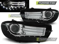 FARI ANTERIORI HEADLIGHTS VOLKSWAGEN SCIROCCO 08-04.14 BLACK LED *3036