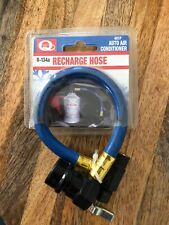 1 Ct ID Quest R 134a Use On All Cans Reusable Easy To Use Auto A/C Recharge Hose