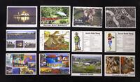 12 x Australian Postcard, Kangaroo, Koala, Sydney, Uluru, Melbourne