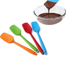 Silicone Spatula Mixing Scrapers Spoon Heat Resistant Kitchen Cooking Baking