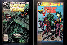 COMICS: DC: Saga of the Swamp Thing #49-50 (1980s), 1st Justice League Dark app