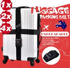 Suitcase Luggage Belt Strap Travel Password Secure Packing Adjustable Lock Nylon