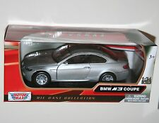 Motor Max - BMW M3 COUPE (Silver) - Model Scale 1:24