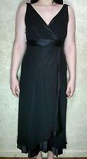 ANNE KLEIN S-12 Black Dress100% Silk NWT