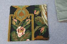 "Turkish Anatolian Kilim Pillow Cushion Hand Woven Wool 18"" x 18""  Zipper Back"