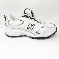 New Balance Mens 407 MX407WB White Running Shoes Lace Up Low Top Size 9 4E