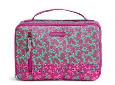 VERA BRADLEY~Large Blush and Brush Makeup Case~DITSY DOT~Brand New w/Tags!