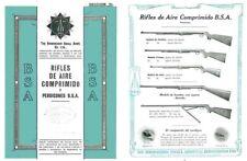BSA c.1913 Rifles de Aire Comprimido