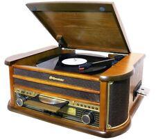 Retro Platten Spieler Fernbedienung Kassetten CD Player Radio Karton beschädigt