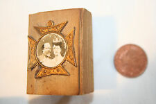 Antique miniature bible commemerating King Edward and Alexandra coronation 1901